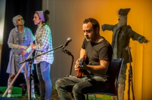 2017-05-13, Lemoa. Lemoa 80. urteurrena, ekitaldia. Irudian Borja Estankona, musikaria. 13-05-2017, Lemoa. 80 aniversario de Lemoa. En la imagen el músico Borja Estankona.
