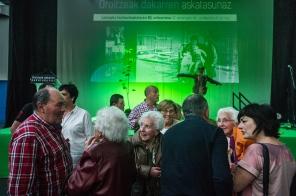 2017-05-13, Lemoa. Lemoa 80. urteurrena, ekitaldia. Irudian publikoa. 13-05-2017, Lemoa. 80 aniversario de Lemoa. En la imagen el publico asistente.